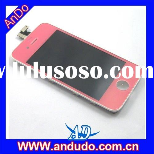 LCD Display Screen Replacement Repair parts for iPhone 4 - Pink