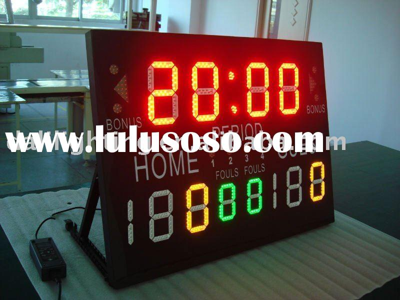 LED Portable Bocce scoreboard display,electronic score boards,digital scoreboards maker,portable sco