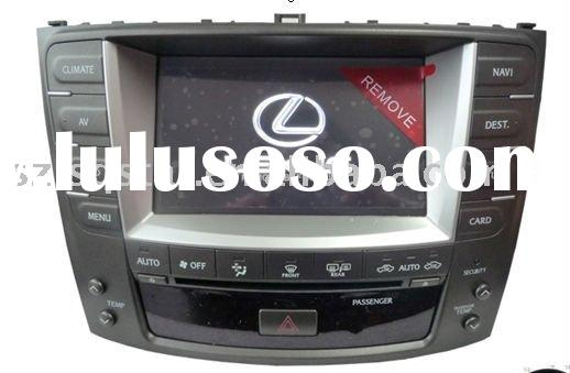 LEXUS IS250 car DVD with GPS, canbus, bluetooth, TV, FM, Ipod support, Steer wheel control, air cond