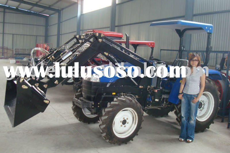 LZ404/LZ454/LZ484, 4x4 compact tractor with front end loader, excavator