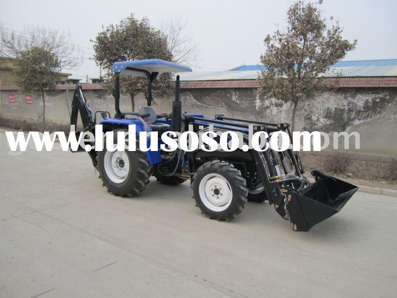 LZ404/LZ454/LZ505 compact farm tractor with Front end loader & Backhoe