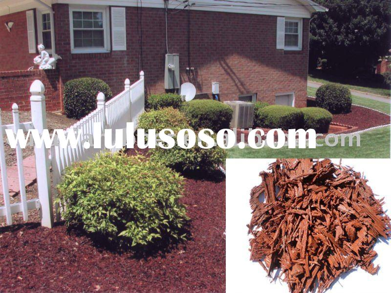 Landscaping rubber mulch