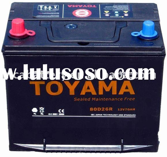 Maintenance Free car battery -80D26RMF