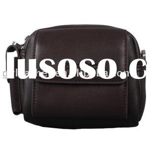 Man's leather waist bag business bags wallet