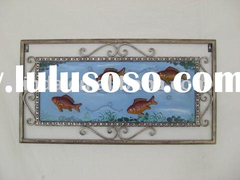Metal wall sculpture,wrought iron wall art,metal wall decor.