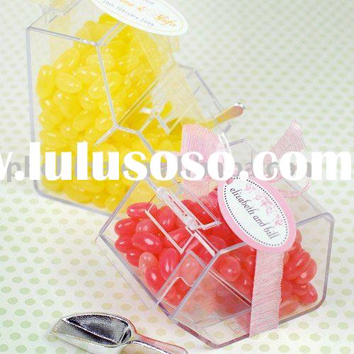 Mini Clear Acrylic Candy Box/Candy Bin,Acrylic Sweets Dispenser,Acrylic Snack Bins
