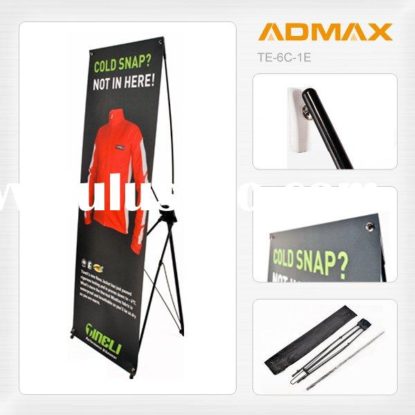 Mobile Portable X Poster Banner Screen Display Board Stand for Event Promotion