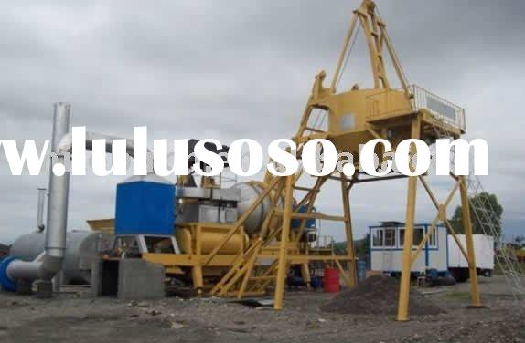 Mobile batch asphalt plant