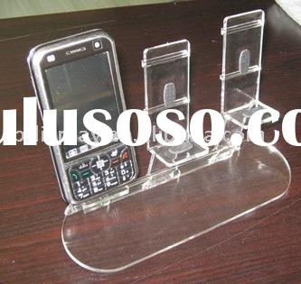 Mobile phone holder phone stand countertop stand tabletop holder phone display rack acrylic stand