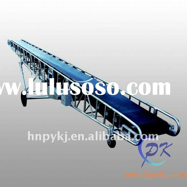Movable Belt Conveyor For Agriculture, Chemicals, Construction,Metallurgy