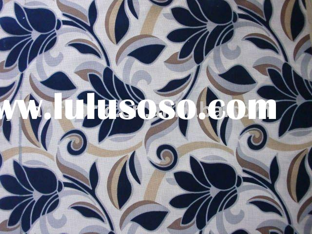 NEW STYLE POLYESTER FLOCK DESIGN PRINT UPHOLSTERY FABRIC FOR SOFA