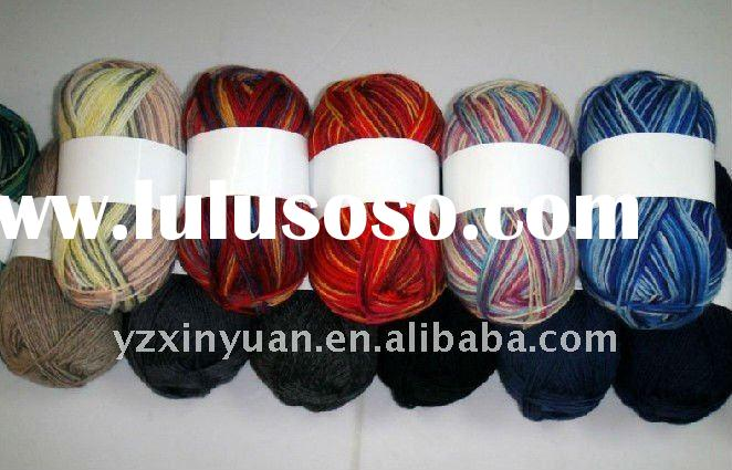 NM8 /3 cheap price hand knitting blended acrylic yarn