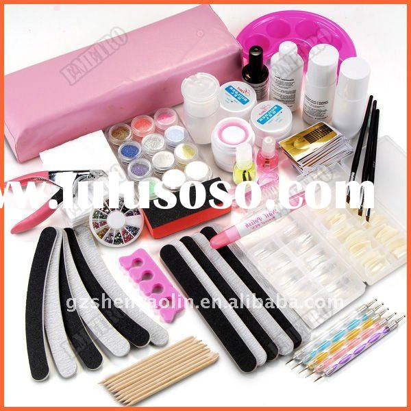 Nail Art Full Set UV Gel False Tips Manicure kit NA470