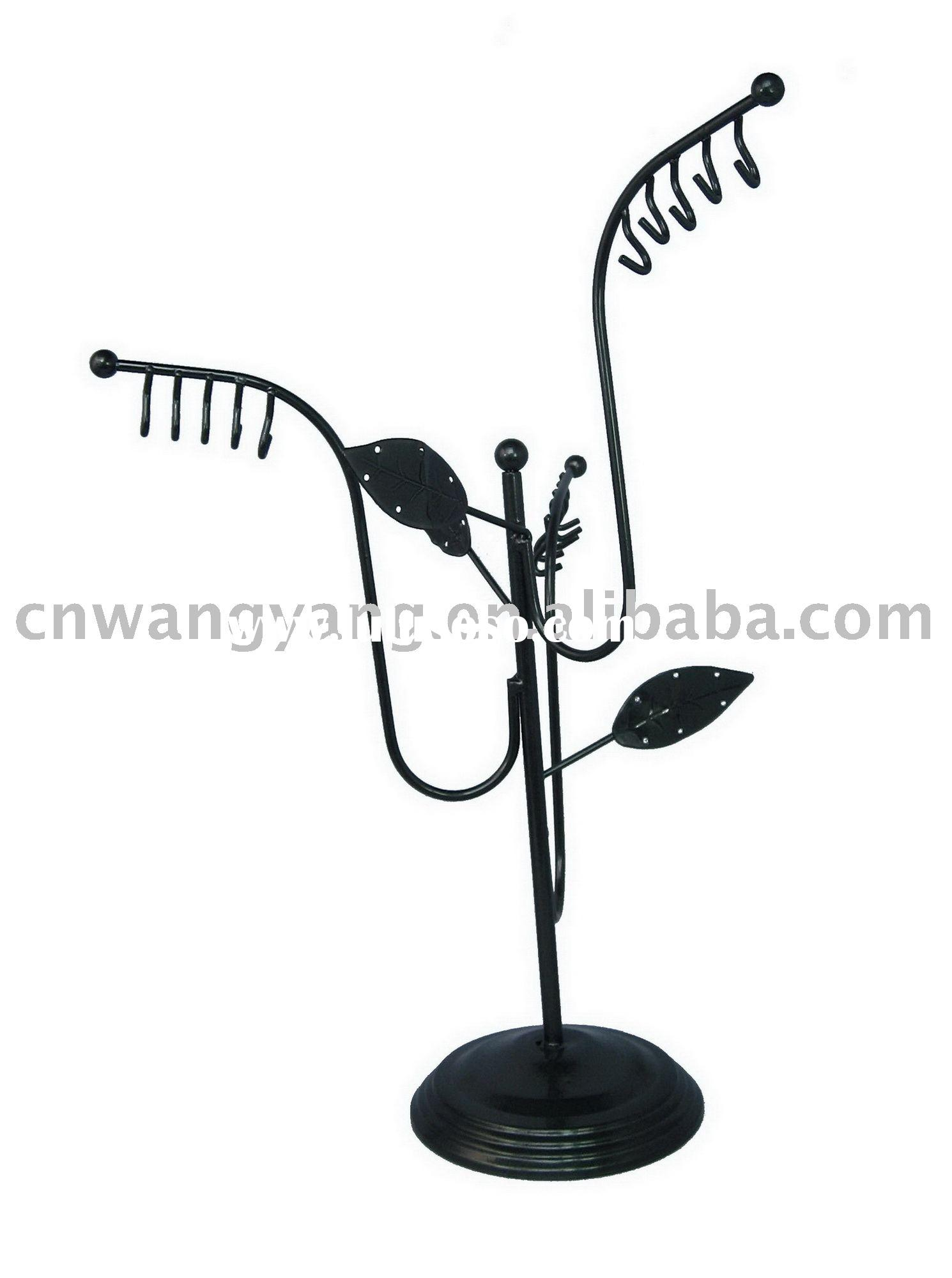 Necklace stand,earring holder,jewelry display