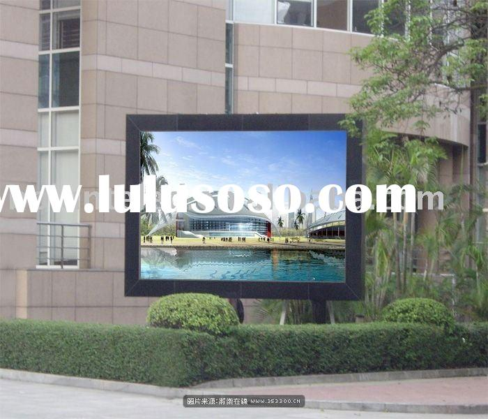 Outside PH25 High Brightness full Color led display Panel