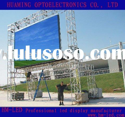 P10 outdoor full color rental led display