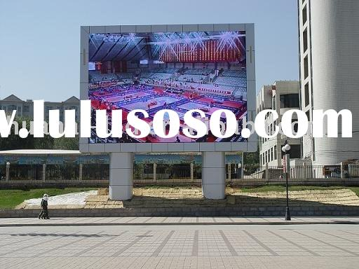 P12 led outdoor signs display