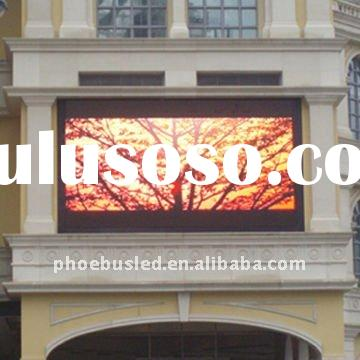 P16 Outdoor Full color LED Light Window Display Screen