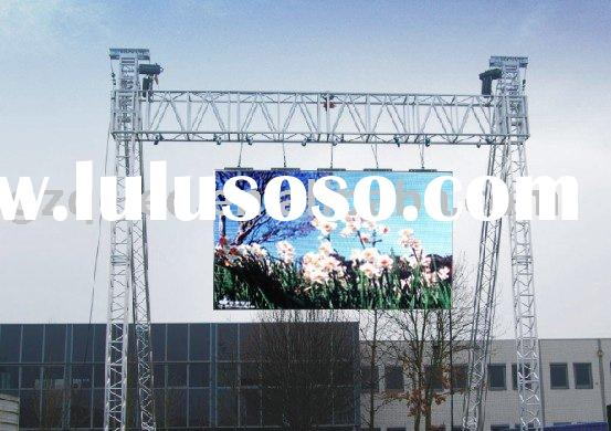 P16 outdoor rental full color LED display