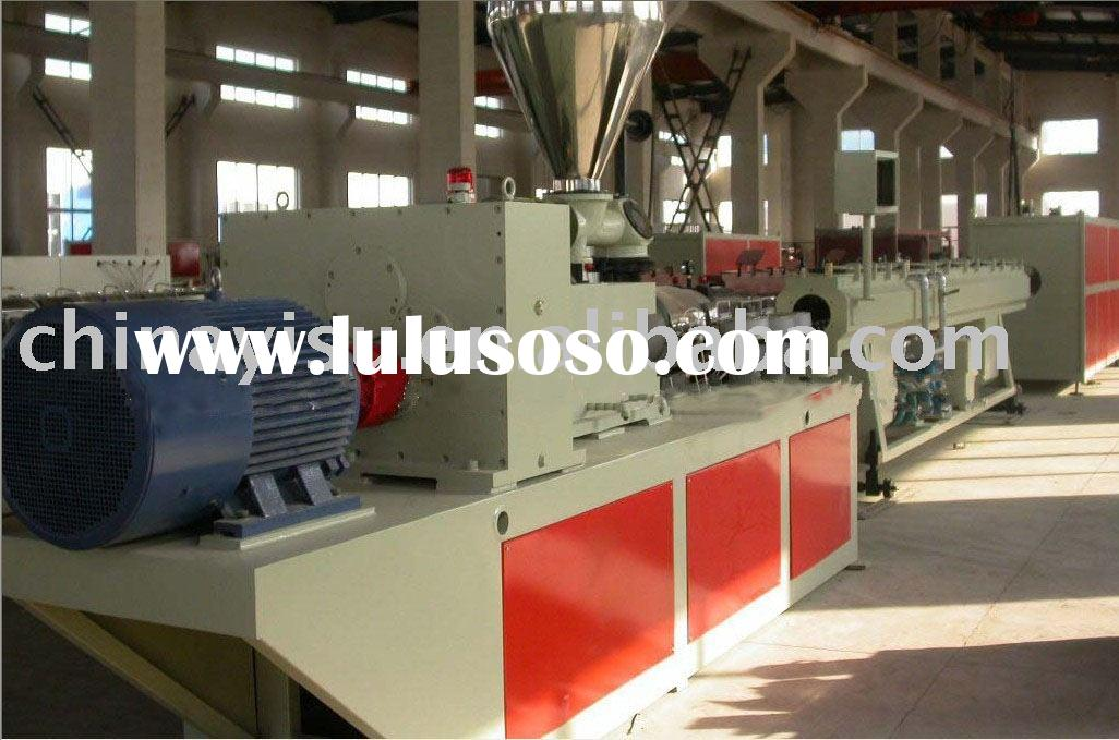 PVC cable/wire pipe making machine/production line