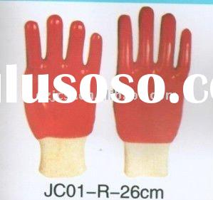 PVC gloves Manufacturer 26/27/35/40/60 cm industrial rubber gloves