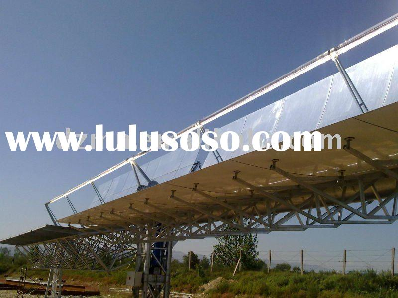 Parabolic Trough Solar Collector In Our Solar Thermal Plant