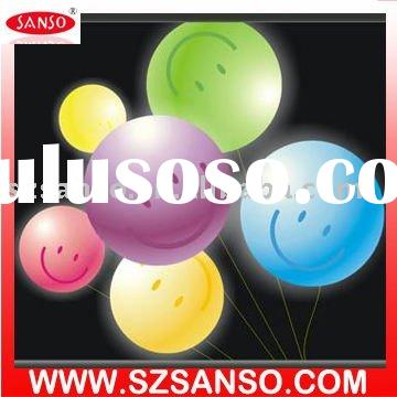 Party Light helium ballons with color changing