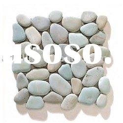 Pebble Mosaic Tile (Mosaic/Wall cladding/Culture stone/Pebbles/River stone/Cobble Mosaic/Solid surfa