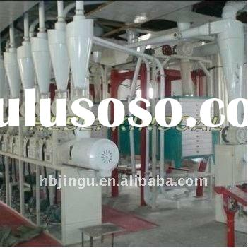 Perfect design good reputation wheat/rice flour mill plant