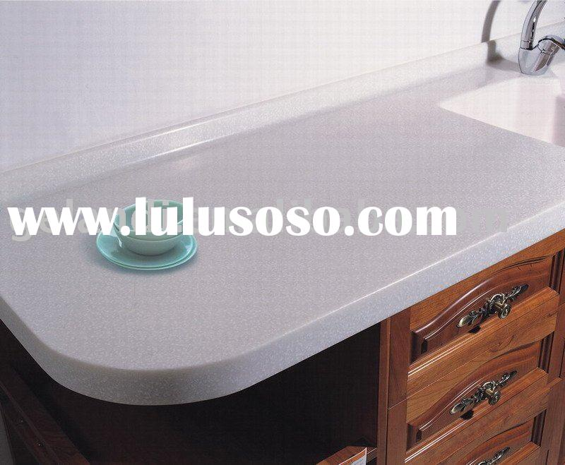 Countertop Materials Manufacturer : Polyester Solid Surface Countertop-- Kitchen countertop