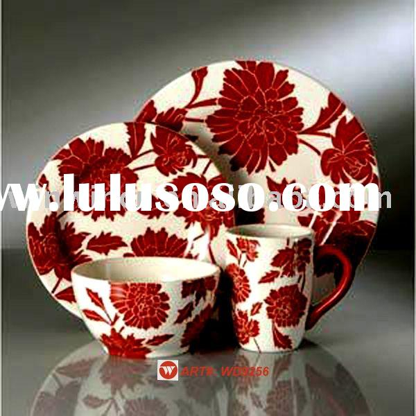 Porcelain Dinnerware Set(Floral dinnerware set)
