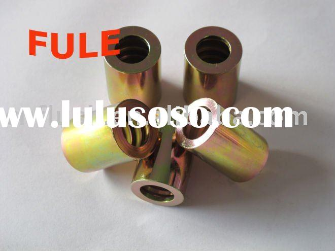 Precision CNC machining service for hose ferrule,clamp with good quality and big quantity