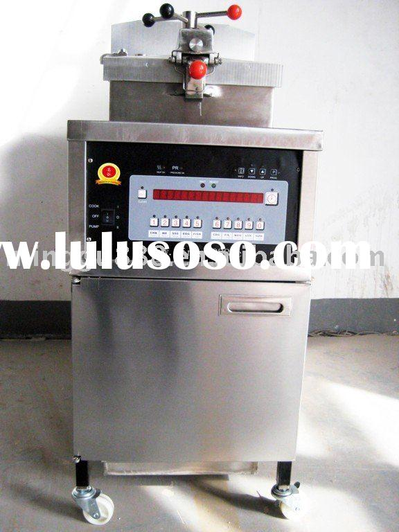 Pressure Fryer Gas Pressure Fryer with Oil Pump and Filter (CE Approval,Manufacturer )