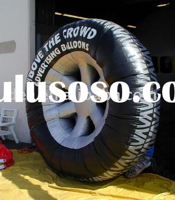 Product Replicas, Inflatable Tire, Car Tire, Advertising Balloon, Giant Tire, Inflatable models