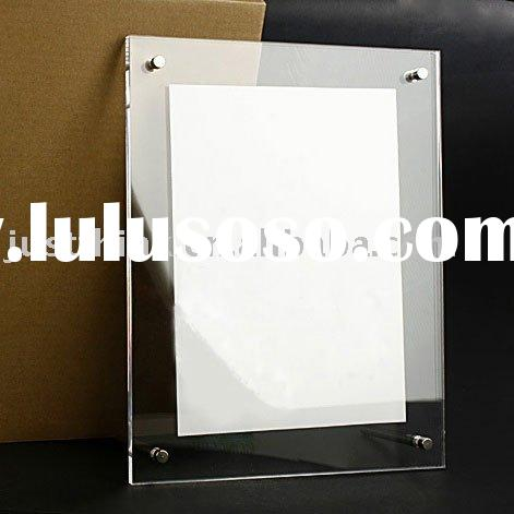 Professional Custom Acrylic Wall Display Frame FZ-PF1129