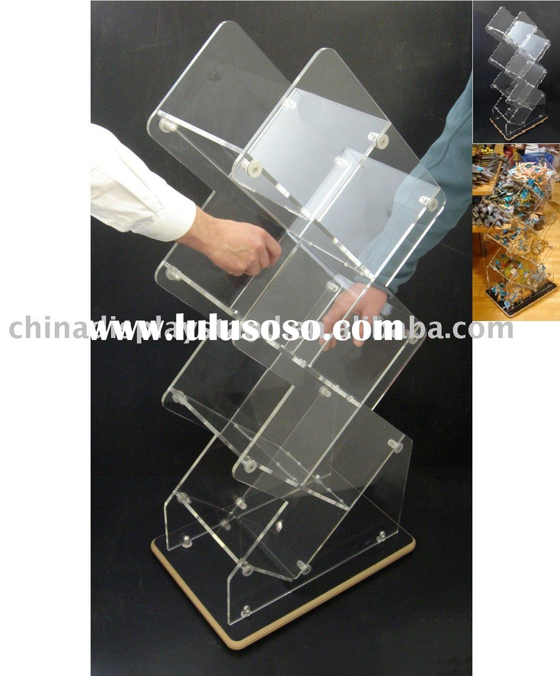 Retail Shelving Merchandiser/Acrylic shelves display stand/Acrylic Box/Acrylic shelves holder