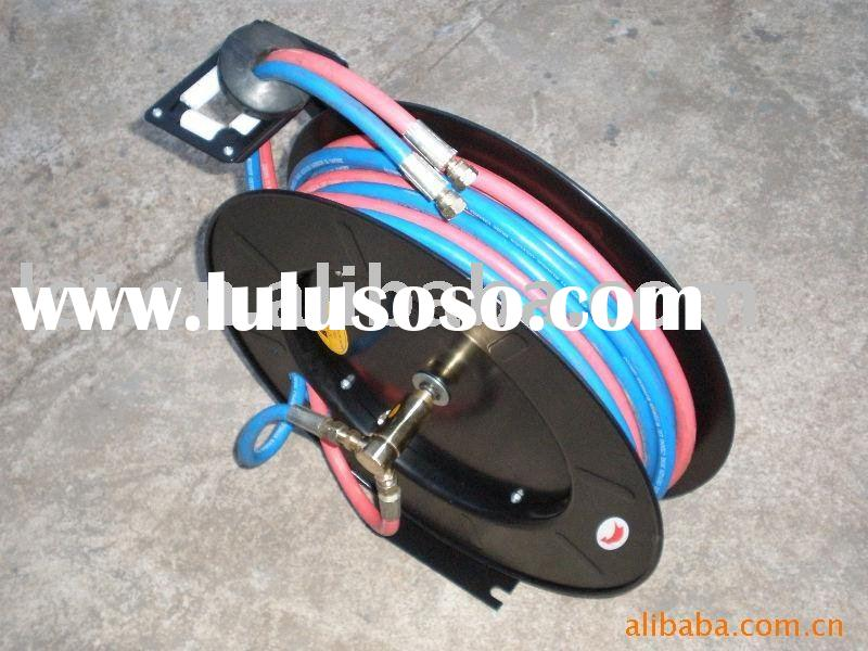Retractable air hose reel (double)