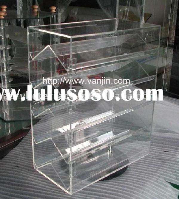 Rotating Acrylic Jewelry Floor Stand Display