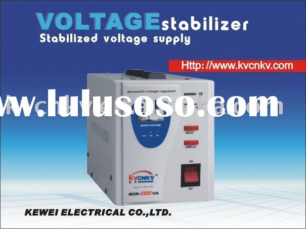 SCR-1500VA AC regulated power supply;single phase voltage regulator;voltage regulator
