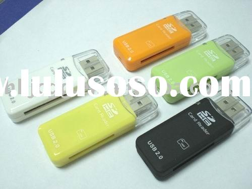 SDHC SD USB 2.0 Memory Card Reader for 2GB 4-8-16GB