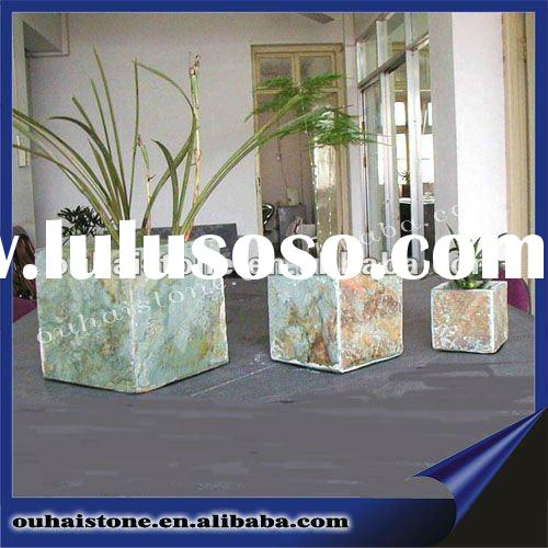 Slate stone arts and craft for table adornment