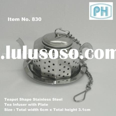 Stainless Steel Teapot Shape Tea Infuser
