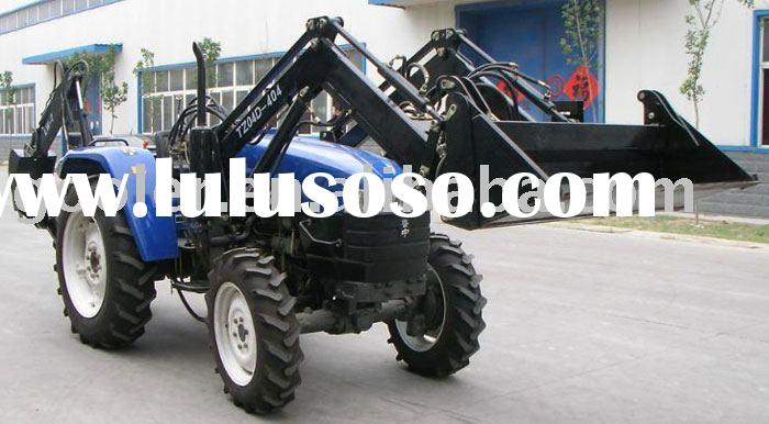 Tractor front end Loader fit with LZ404, 40HP, 4WD, 4in1 bucket model
