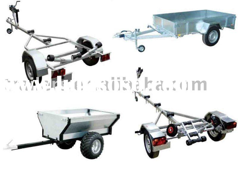 Trailer , Boat trailer, Box trailer, Car trailer