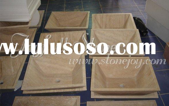 Travertine Vessel Sinks