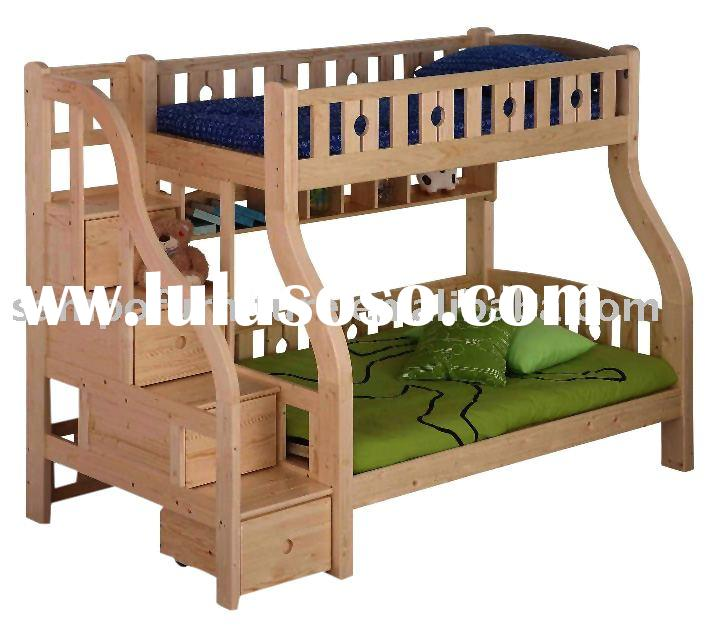 bunk bed plans with trundle
