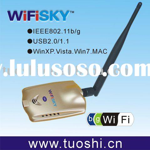 USB Wireless Network Card WiFiSKY 10G