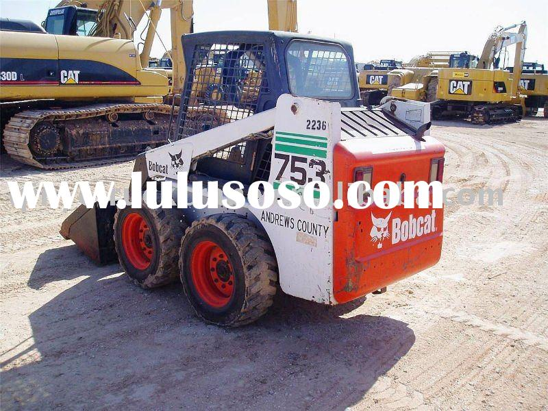Used BOBCAT Wheel Loader 753