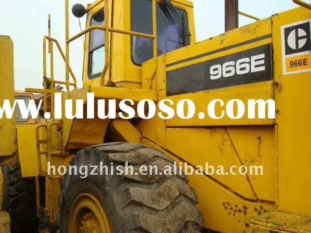 Used backhoe wheel loader of Cat 966E on sale