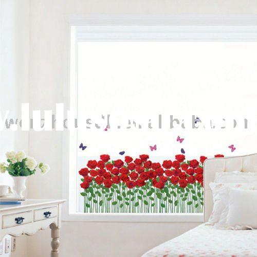 Vinyl Wall Art Sticker / Cherry- Blossoms / Mural Decals